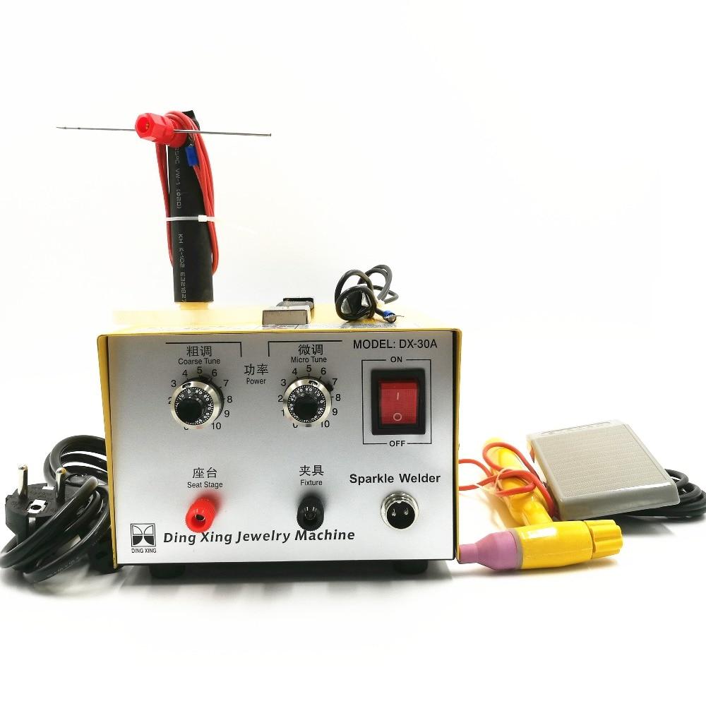 ZIYANGOL DX-30A zlatý svařovací pulsní bodové svařování Dobrý pulsní bodový svářeč 200W šperky svařovací stroj zlato stříbrná platina