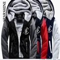 SPARSHINE Eminem eminem fleece and wool fleece cardigan coat winter set of male hooded fleece single men who clothes city boy