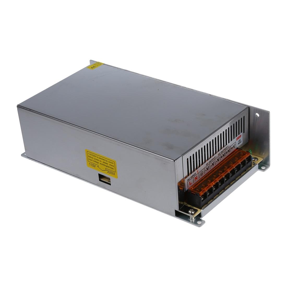 цена DC 12V 50A 600W Switching Power Supply Transformer for LED Strip Light 110/220V