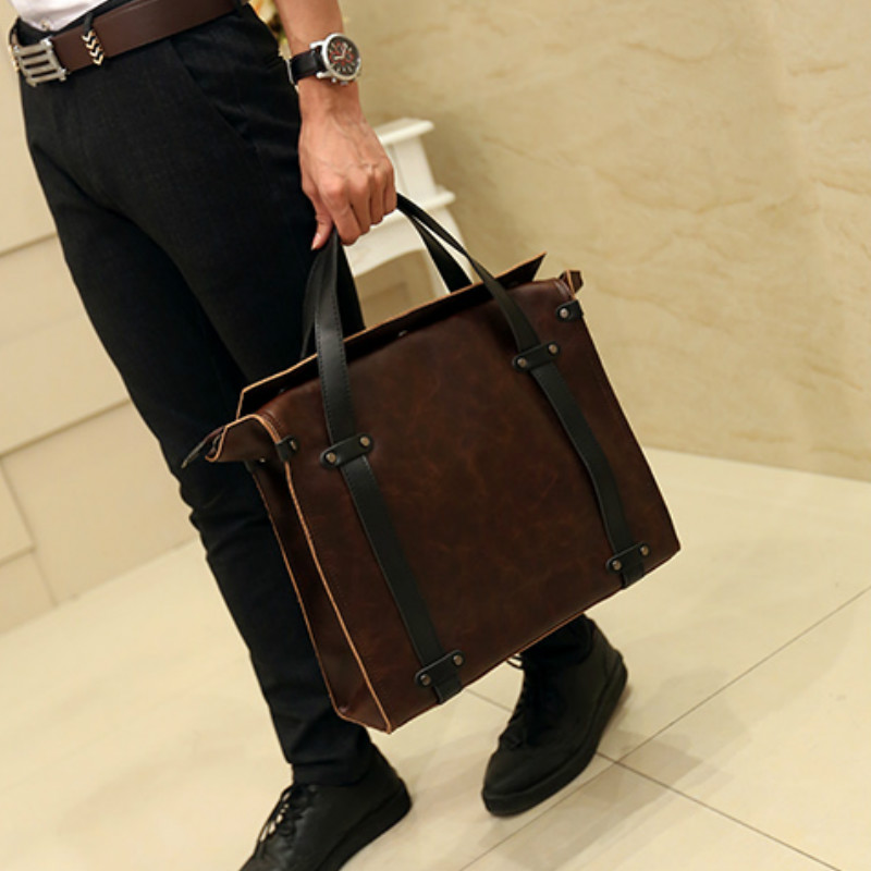 Han edition men's bags leather men's bags handbag restoring ancient ways men shoulder bag business bag кровать из массива дерева xuan elegance furniture