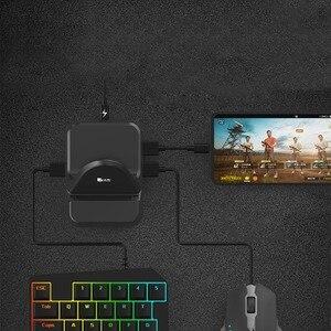 Image 3 - NEX Tastatur Maus Konverter Station Stehen Docking Adapter für Android Telefon PUBG Gamepad Joystick Spiele Controller BattleDock