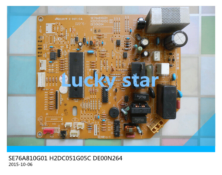 ФОТО 95% new for Air conditioning computer board circuit board SE76A810G01 H2DC051G05C DE00N264 good working