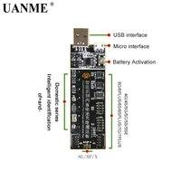 UANME Telefon Batterie Aktivierung Bord Platte Lade USB Kabel Jig Für iPhone 4 8X VIVO Huawei Samsung xiaomi Schaltung test-in Handwerkzeug-Sets aus Werkzeug bei