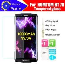 HOMTOM HT70 Gehärtetem Glas 100% Original Premium 9 H 2.5D Screen Protector Film Für HOMTOM HT70 Telefon (Nicht Voll abdeckung)