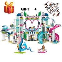 Friends The Heartlake City Resort Model Compatible legogery Friends 41347 Building Block Brick Toys for Children
