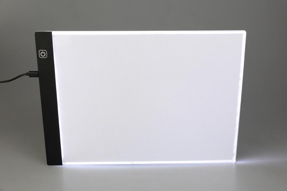 A4 Dimmable Brightness Ultra-thin Portable LED Light Box Tracer USB Power Cable LED Artcraft Tracing Light Pad Artists Drawing
