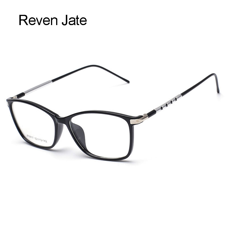 Reven Jate Glasögon Fashion Full Rim Optisk glasögon Ram Prescription Eyewear för män och kvinnor Vision Correction Spectacles