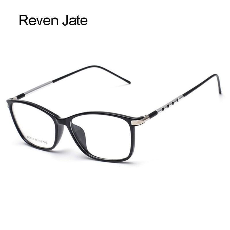 Reven Jate Glasses Fashion სრული Rim ოპტიკური სათვალე, ჩარჩო რეცეპტი, თვალები მამაკაცთა და ქალთა ხედვის კორექციის სპექტაკლები