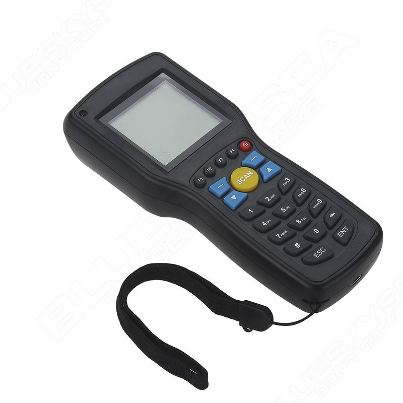 Original Heroje 1D EAN13 UPCA/E Wire wireless barcode scanner data Inventory collector Terminal original 1d laser barcode handheld scanner bluetooth android rugged mobile data terminal pda nfc 3g data collector 1 sim card 2d