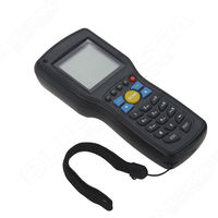 Free Shipping 1D EAN13 UPCA E Wire Wireless Barcode Scanner Data Inventory Collector Terminal