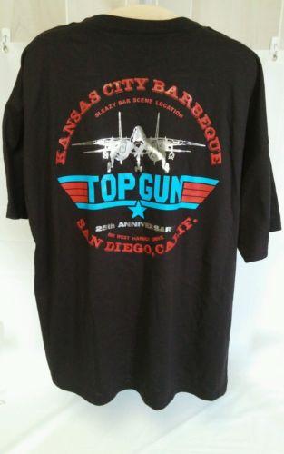 Top Gun Bar Scene Location San Diego California 25th Anniversary T Shirt ...