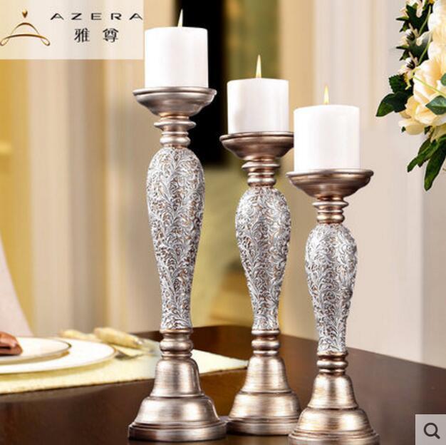 De style européen de luxe chandelier vintage bougie artisanat.
