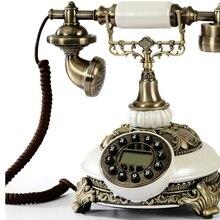 Античный модный качественный модный телефон, подходящий в винтажном стиле, бытовой телефон 8675