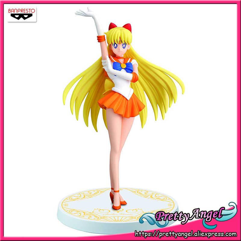 PrettyAngel-אמיתי Banpresto Guardian Sailor די ירח בנות זכרונות דמות של סיילור ונוס צעצועי פעולה איור