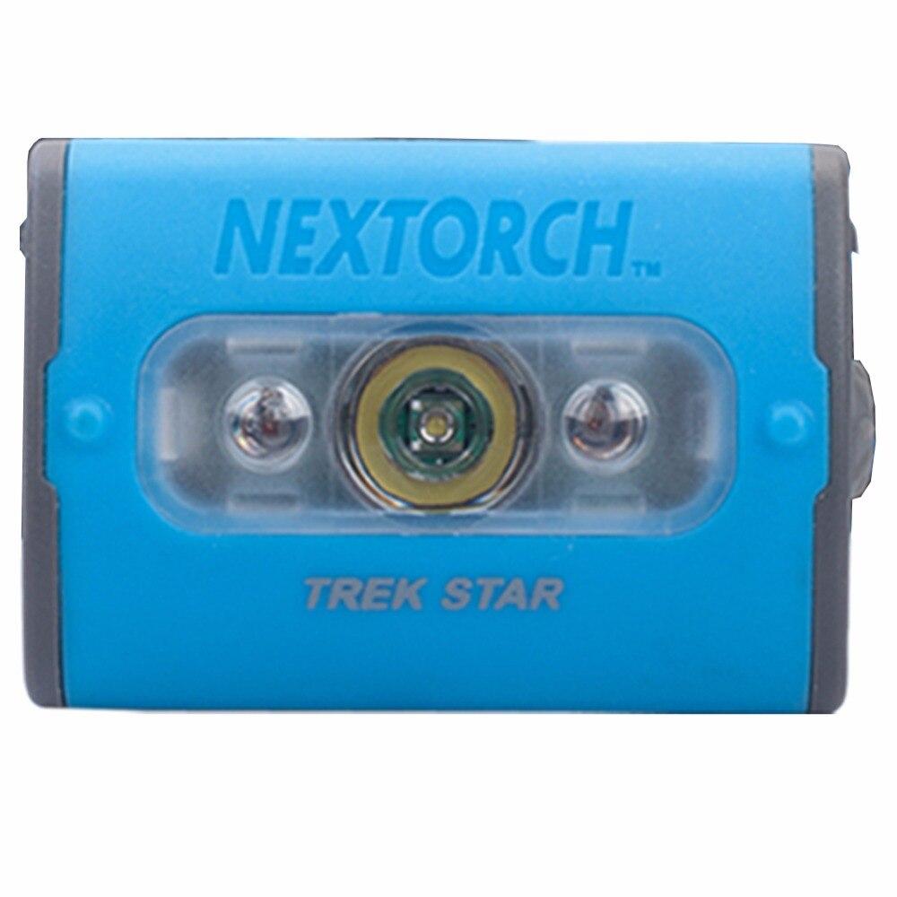 ФОТО NEXTORCH Headlamp With CE RoHS Plastic LED Multi-Mode High Power AAA Battery White Red LED Adjustable Headlamp#TREK STAR