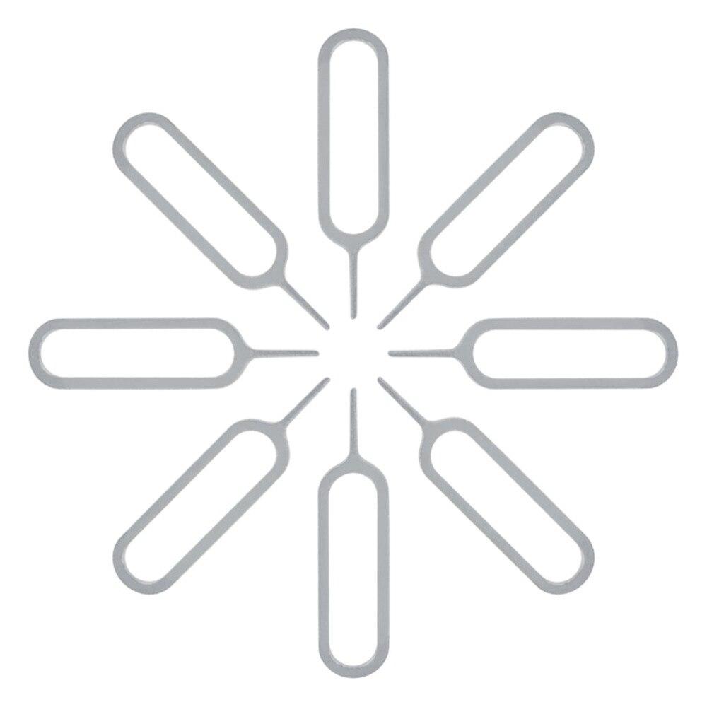 50 יח'\חבילה ה-sim כרטיס הסרת כניסה כלי מחט פותחן מפליט כרטיס ה-sim מגש הוצא פין כלי פתוח הוצא פין עבור נייד טלפון