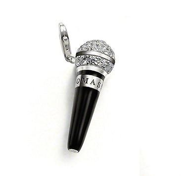 pandora ciondolo microfono