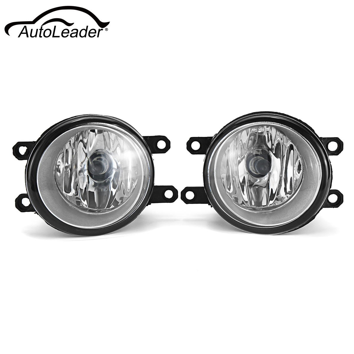 Pair 12V Car Front Fog Lights Right+Left H11 Bulbs For Lexus/Toyota 55W Fog Lamp Yellow Light pair h11 car front bumper left right fog light lamp black grille covers switch h11 bulbs for toyota corolla 2008 2010