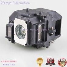 ELP58  lamp module fit For EPSON EB-X92 EB-S10 EX3200 EX5200 EX7200 PowerLite S9 VS200 1220 1260 EB-S9 EB-S92 EB-W10 EB-W9 meeeno mn eb ecd11 5 pin rotating encoder module orange silver