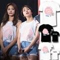 Новый Kpop Дважды футболка twiceland Сеул концерт же стиле футболка tee