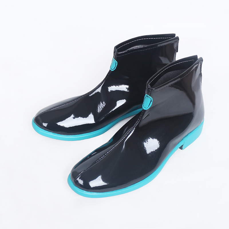 Anime Vocaloid Hatsune Miku Cosplay Boots Shoes Custom Made New-in Shoes from Novelty & Special Use    3