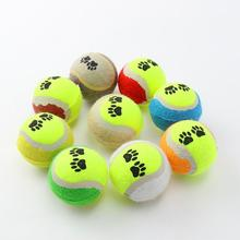 Tennis Ball For Pet Dog Chew Toy Pets Small Dogs Supplies Cricket Puppy Play Toys Balls Games Products