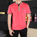 Hot Sale New 2017 Fashion Brand Men Polo shirt Solid Color short Sleeve Slim Fit Shirt Men Cotton polo Shirts Casual Shirts 3XL