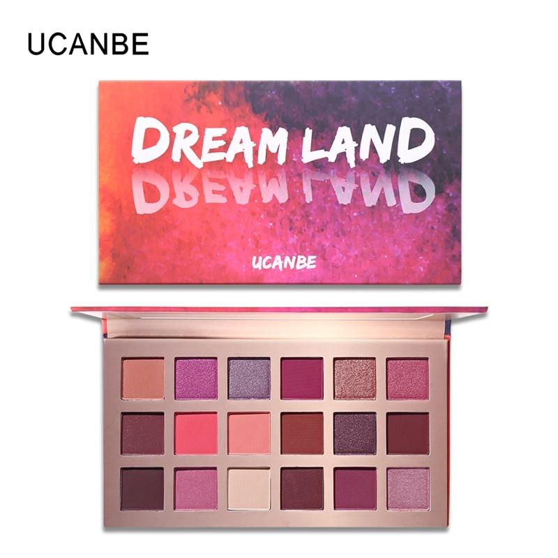 Aliexpress.com : Buy UCANBE Brand 18 Colors Eyeshadow
