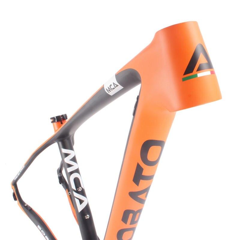 купить 29er MTB Frame - Full carbon MATT mountain bike 29ER BB30 MTB Frame and fork 15.5