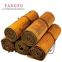 Cultural Classic Bamboo Scroll Slips Bamboo And Wooden Slips Famous Book Bilingual Chinese English Edition With