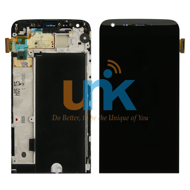 Phone Repair LCD Display Screen For LG G5 H850 LCD Display with Touch Screen Digitizer Assembly With Frame Black Free Shipping original lcd for htc one m8 lcd display touch screen digitizer pantalla assembly with frame repair black silver gold blue red