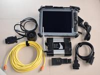 Для автомобилей bmw и грузовиков diangostic программирования инструмент icom рядом с Wi Fi для bmw icom a2 программного обеспечения ssd 2018,12 v в ix104 tablet