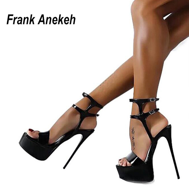 Aliexpress.com : Buy Extreme High Heel Sandals Fashion Womens ...