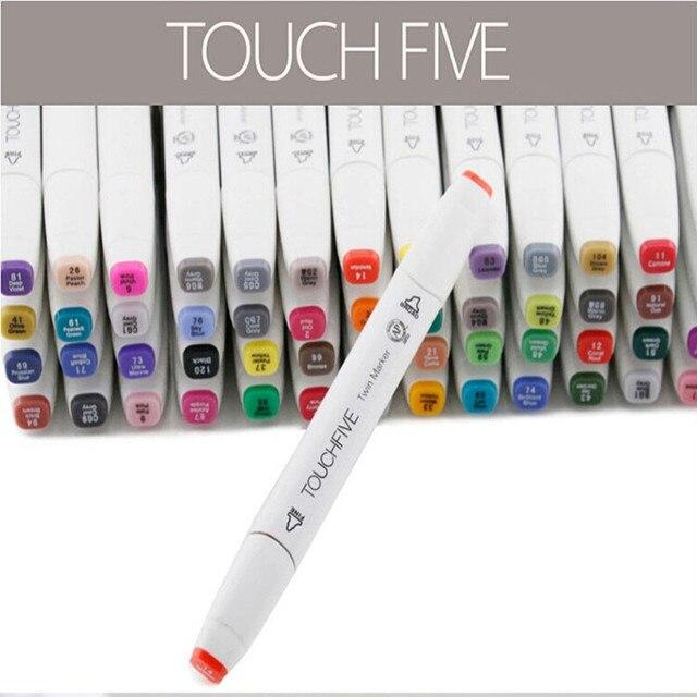 Alcohol 80 colores paisaje diseño TOUCHFIVE Pen marcadores informa ...