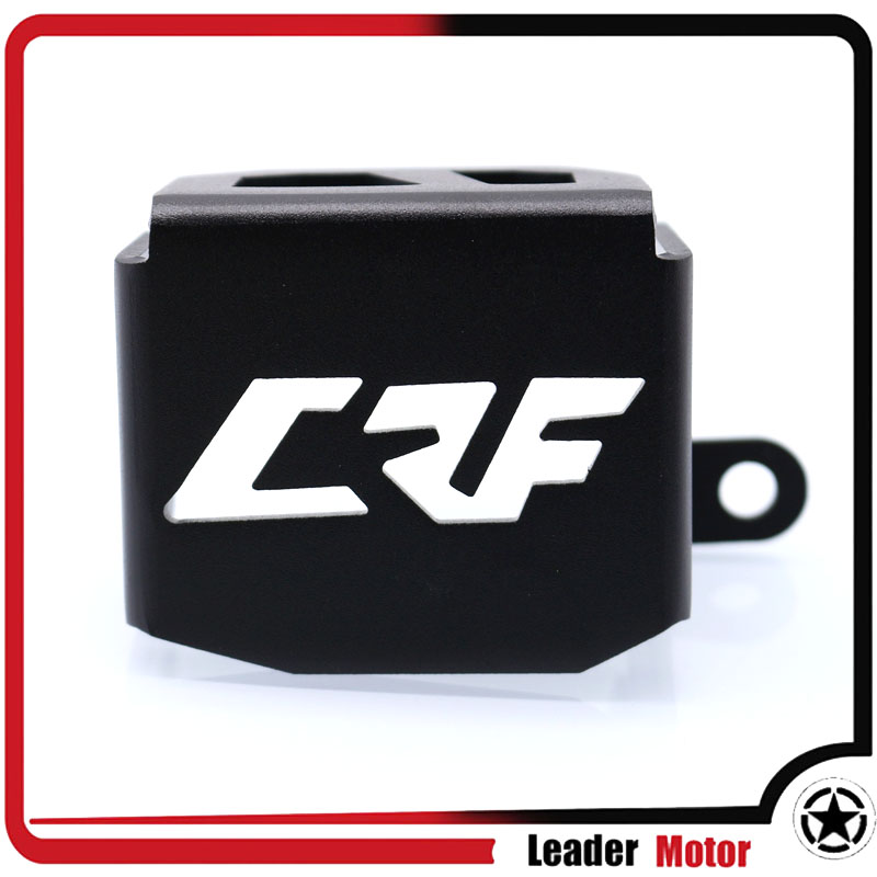 For HONDA CRF 1000L CRF1000L Aftica Twin/ABS/DCT 2016-2017 Motorcycle Rear Brake Fluid Reservoir Guard Cover Protector ck cattle king brake clutch tank oil fluid master cylinder reservoir for honda crf 250 1000l 1000 crf1000l african twin cb1100