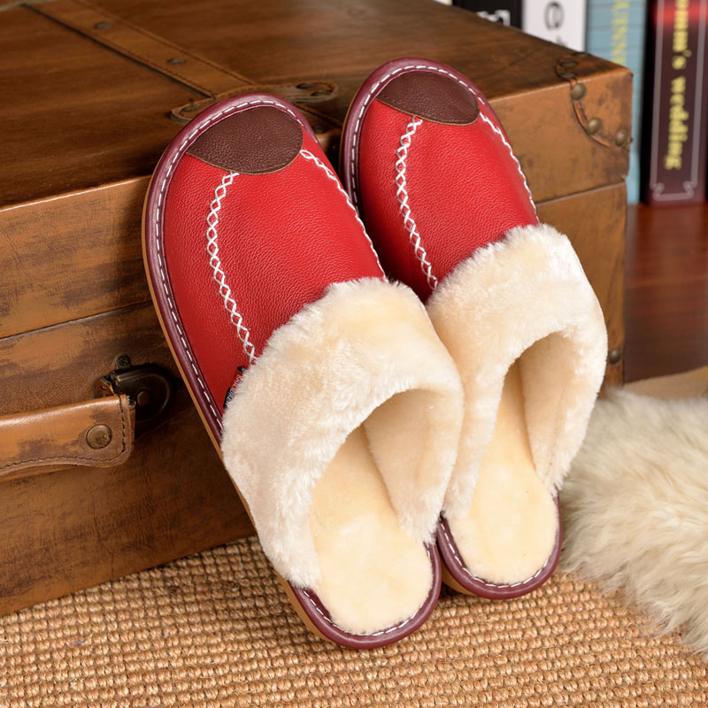 cheap sheepskin slipper boots