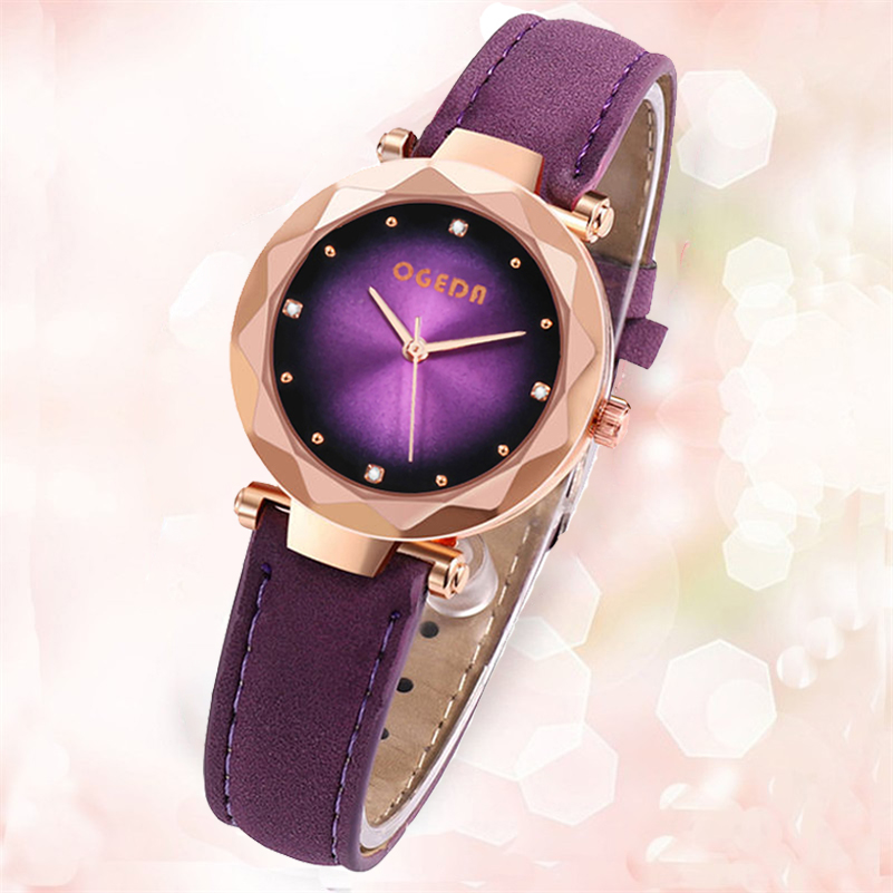 OGEDA Women's Watches Fashion Ladies Watches For Women Bracelet Relogio Feminino Clock Gift Montre Femme Luxury Bayan Kol Saati