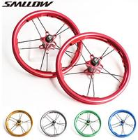 12 inches Wheels for Kids Balance Bike 85 95mm Children Slide Anodize Colorful Double Layer Aluminum Allolly Bicycle Wheelset