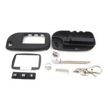 A9 switchblade 키 케이스 starline a9 a6 a8 a4 uncut 블레이드 fob 케이스 커버 a9 접는 자동차 플립 원격 10 pcs 무료 배송