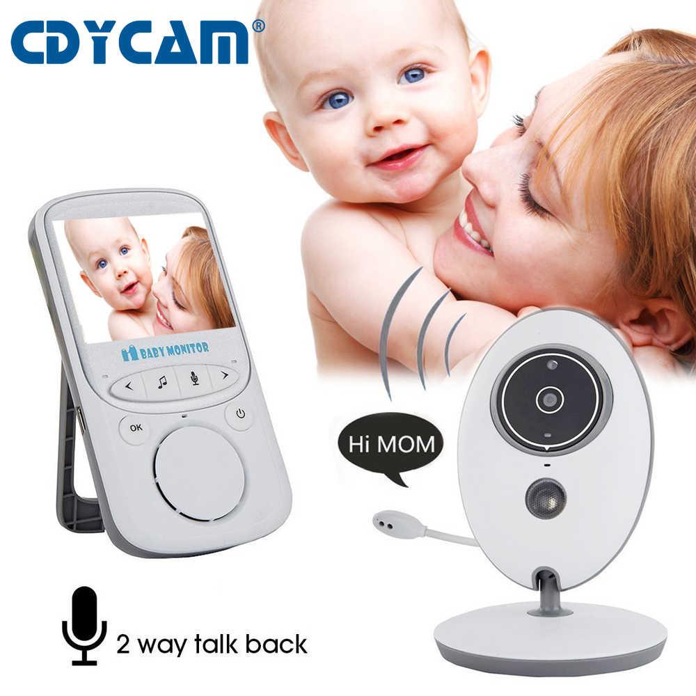 CDYCAM беспроводной ЖК-Аудио Видео Детский Монитор VB605 радио няня музыка работающий на линии внутренней связи инфракрасный портативный детский фотоаппарат рация няня