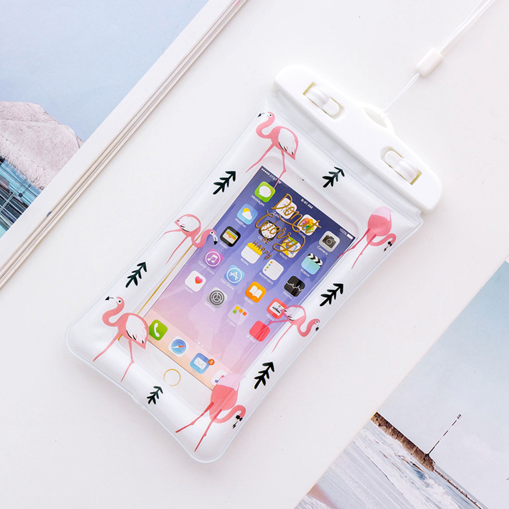 Universal-Swimming-Phone-Bags-Case-Unicorn-Cartoon-Flamingo-Portable-Diving-Pouch-Air-Bag-For-iPhone-X-7-8-Plus-6-6s-S8-S9-DH16- (16)