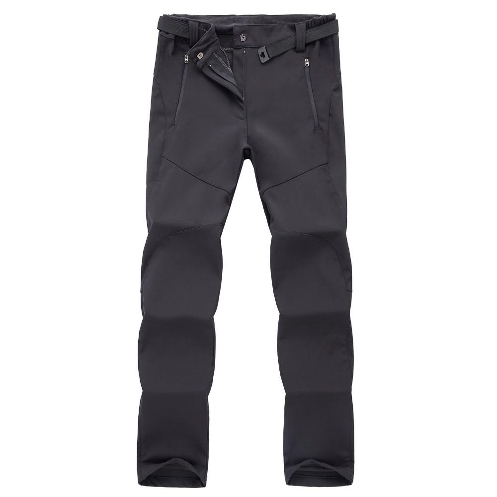df124a5b244 Outdoor Winter Ski Pants Women Solft Shell Pants Plus Size ...