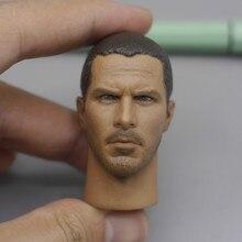 Custom 1/6 Scale Connor Head Sculpt Christian Bale Carving Model Figure Toys