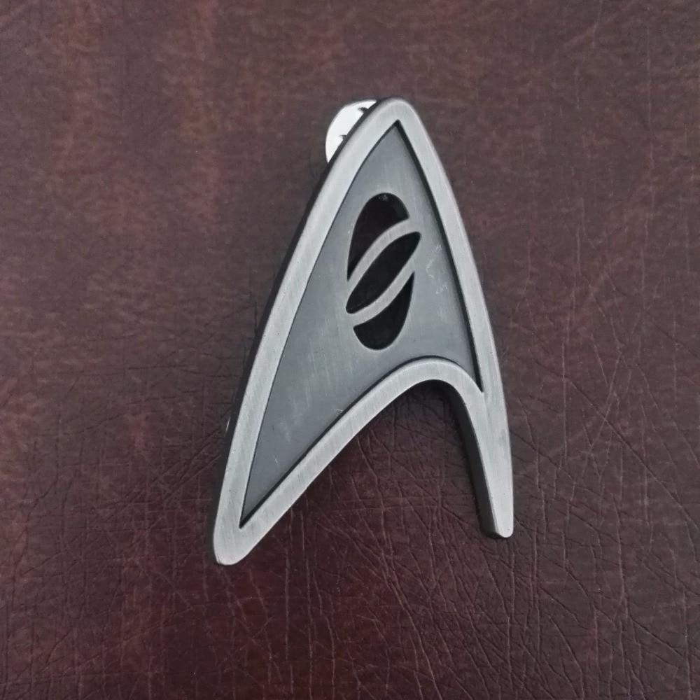 Star Trek Badge Cosplay Starfleet Science Division Badges Brooch Pin