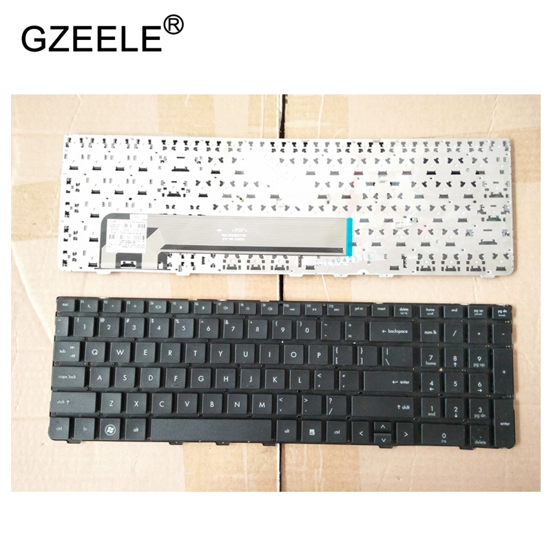 GZEELE New English Keyboard for HP ProBook 4530S 4535S 4730S 4735S Series US Black Keyboard without Frame Laptop Keyboard laptop keyboard for sony vpcz2 black without frame with backlit us english version