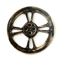 Creative Wooden Gear Wall Decoration Wall Hanging Ornaments Home Decoration Ornament Gear Figurines