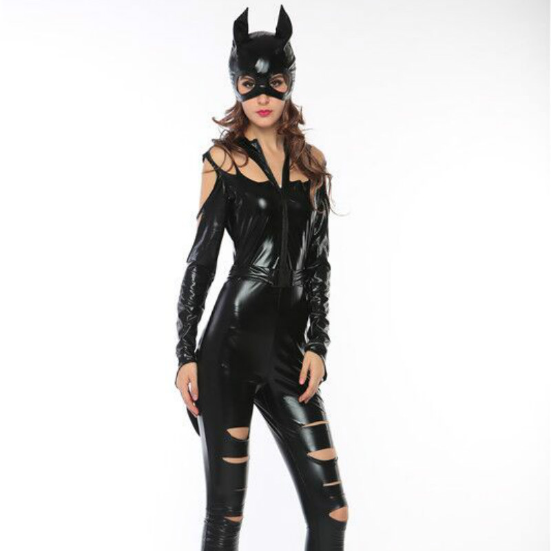 CFYH 2018 New Sexy Adult Girl Catwoman Costume Halloween Cosplay Lady Outfit-in Sexy Costumes from Novelty u0026 Special Use on Aliexpress.com   Alibaba Group  sc 1 st  AliExpress.com & CFYH 2018 New Sexy Adult Girl Catwoman Costume Halloween Cosplay ...