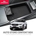 Smabee автомобильный центральный подлокотник коробка для Volvo XC40 2019 интерьерные аксессуары для хранения Tidying центральная консоль Органайзер ко...