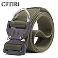 CETIRI Nylon Tactical <font><b>Belt</b></font> Military Style Webbing Riggers Web <font><b>Belt</b></font> with Heavy-Duty Quick-Release Metal Buckle