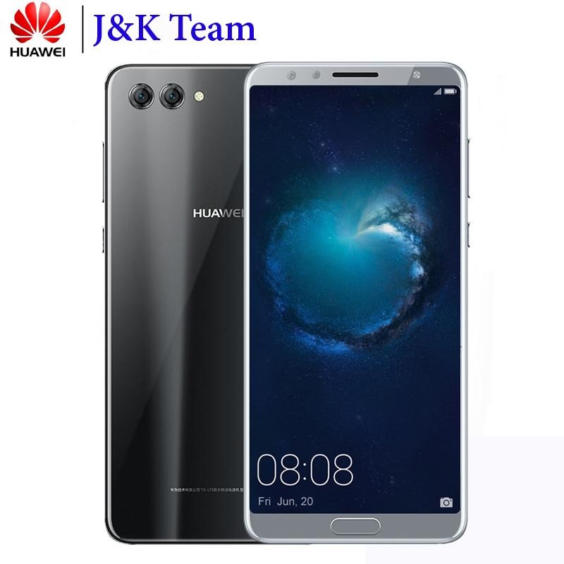 """Huawei Nova s 2 s смартфон с NFC 6,0 """"полный вид экран 2160 * 1080pix 4 камеры 20MP Android 8,0 Octa Core мобильный телефон стекло сзади"""